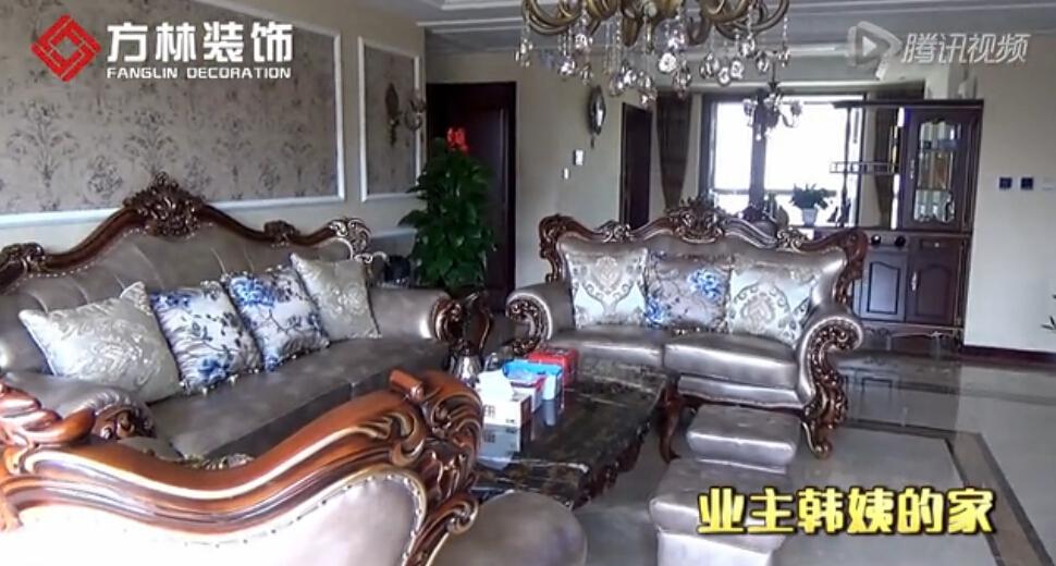 小林子带你走进龙湖御和园韩姨刚刚装修完的家