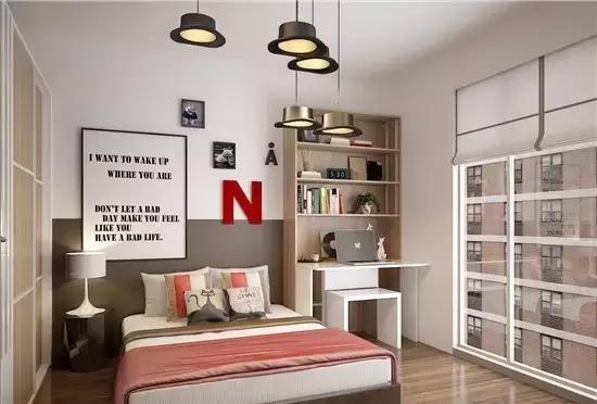 方林装饰教你如何利用空间,装修过程中如何利用卧室角落!